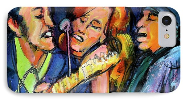 Bruce Patty And Stevie IPhone Case by Les Leffingwell