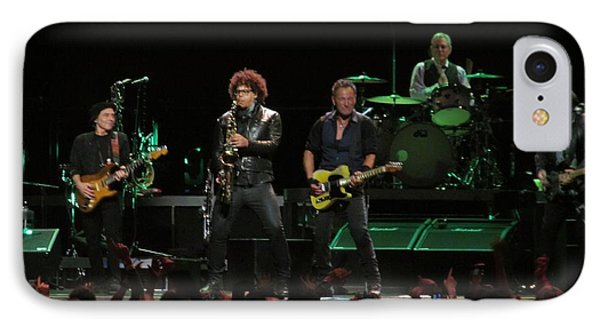Bruce Springsteen And The E Street Band IPhone Case by Melinda Saminski