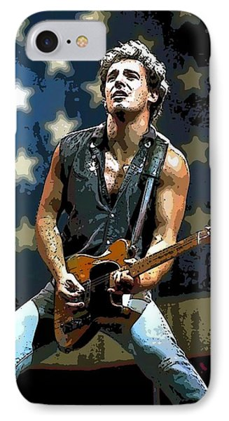Bruce Springsteen Born To Run IPhone Case