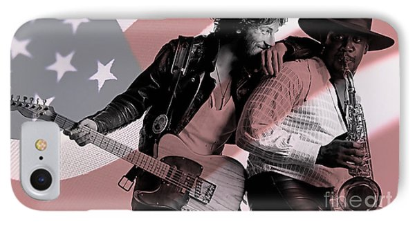 Bruce Springsteen Clarence Clemons IPhone 7 Case