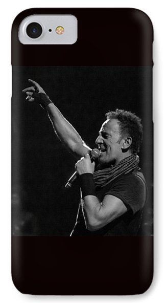 IPhone Case featuring the photograph Bruce Springsteen In Cleveland by Jeff Ross