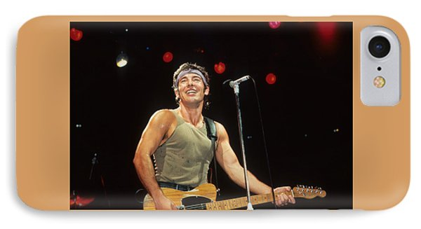 Bruce Springsteen Phone Case by Rich Fuscia