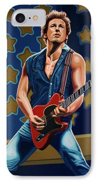 Bruce Springsteen The Boss Painting IPhone 7 Case
