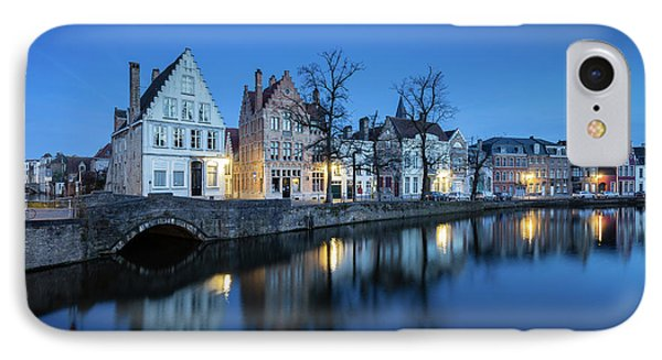 Magical Brugge IPhone Case by JR Photography