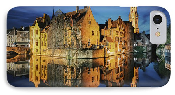 Brugge IPhone Case by JR Photography
