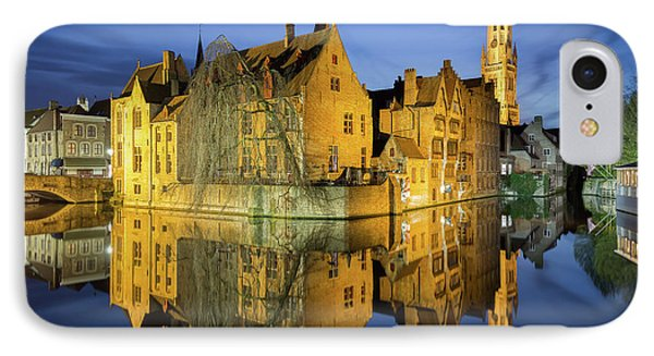Brugge Twilight IPhone Case by JR Photography