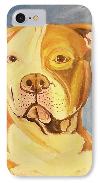 IPhone Case featuring the painting Bruiser by John Keaton