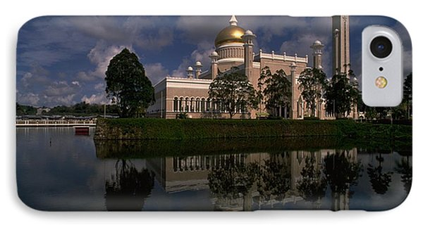 Brunei Mosque IPhone Case by Travel Pics