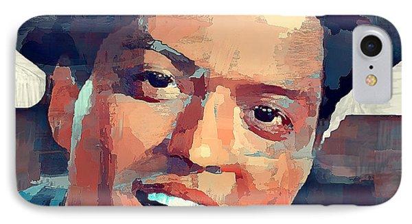 Bruno Mars Portrait IPhone Case