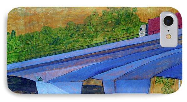 Brunswick River Bridge IPhone Case by Paul McKey