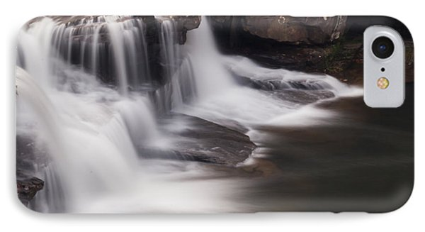Brush Creek Falls IPhone Case by Mel Petrey