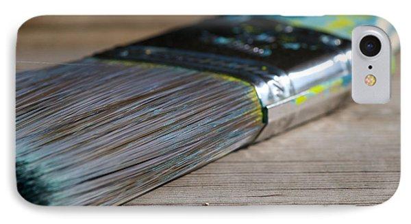 Brush Work IPhone Case by Lisa Knechtel