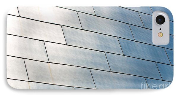 Brushed Stainless Steel Panels On The Bok Center IPhone Case by ELITE IMAGE photography By Chad McDermott