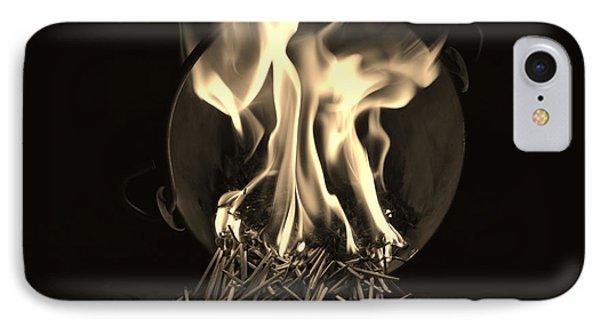 Brushfire 14 IPhone Case by Sumit Mehndiratta