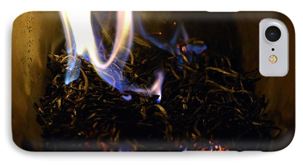 Brushfire 17 IPhone Case by Sumit Mehndiratta