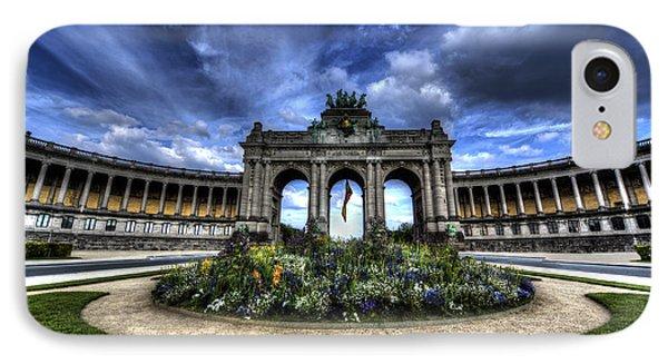 Brussels Parc Du Cinquantenaire IPhone Case by Shawn Everhart