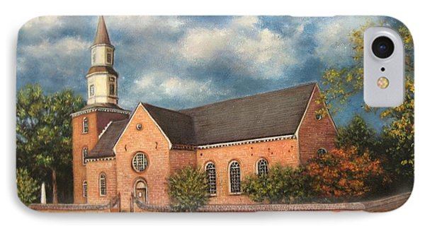 Bruton Parish Church IPhone Case by Gulay Berryman