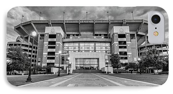 Bryant - Denny Stadium -- Walk Of Champions IPhone Case by Stephen Stookey