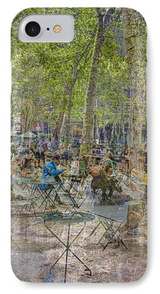 Bryant Park Collage 2 IPhone 7 Case