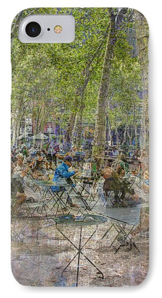 Bryant Park Collage 2 IPhone Case