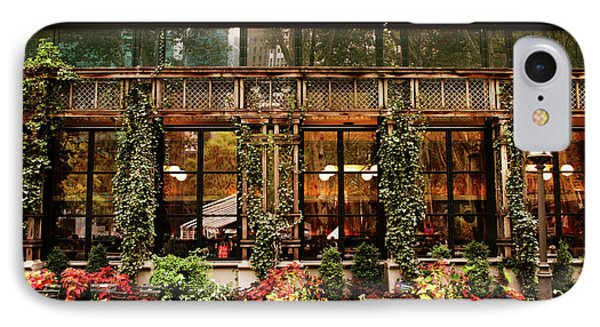 Bryant Park Grill IPhone Case by Jessica Jenney