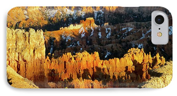 Bryce Canyon Hoodoos Evening IPhone Case by Amelia Racca