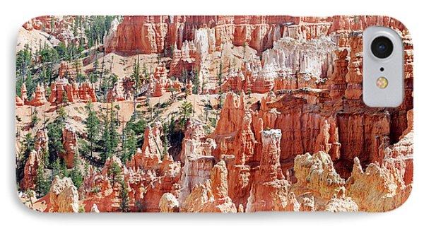 Bryce Canyon Hoodoos Phone Case by Nancy Landry