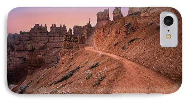 Bryce Canyon Sunset IPhone Case by Larry Marshall