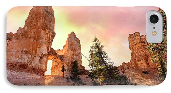Bryce Canyon - Tower Bridge IPhone Case by Thomas Schoeller