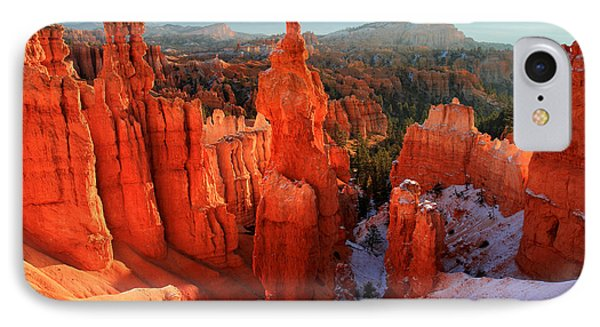 Bryce Canyon's Thor's Hammer Phone Case by Pierre Leclerc Photography