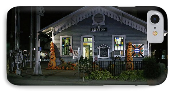 Bryson City Train Station IPhone Case by Lamarre Labadie