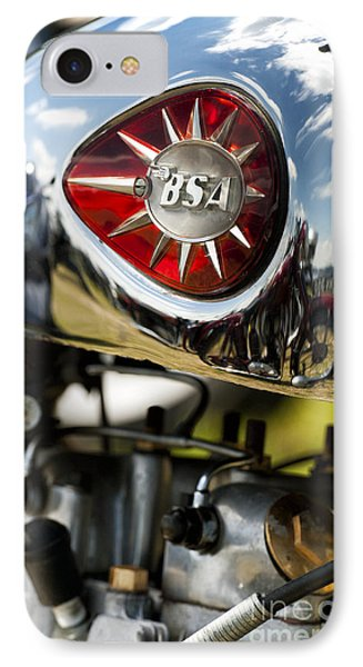Bsa Royal Star  IPhone Case by Tim Gainey