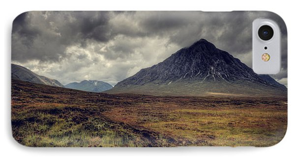 Buachaille Etiv Mor IPhone Case by Ray Devlin