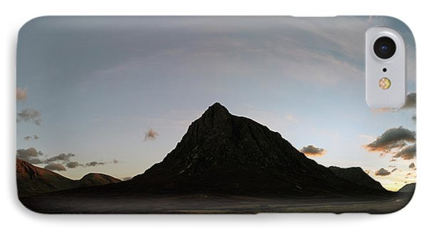 IPhone Case featuring the photograph Buachaille Panorama by Grant Glendinning