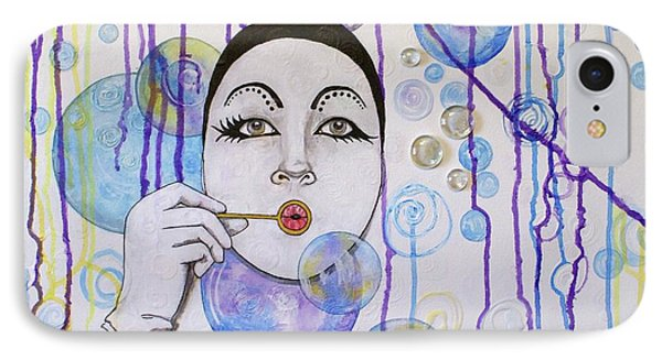 Bubble Dreams Phone Case by Jane Chesnut