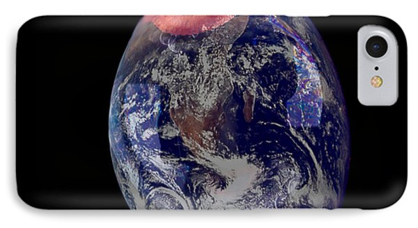 Bubble Earth IPhone Case
