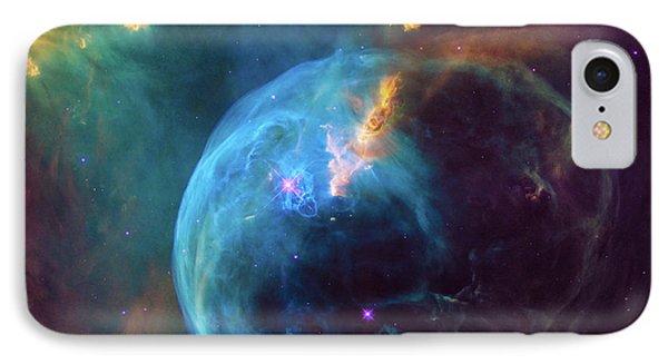Bubble Nebula IPhone Case by Marco Oliveira