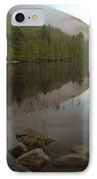 IPhone Case featuring the photograph Bubble Pond Reflections by Stephen  Vecchiotti