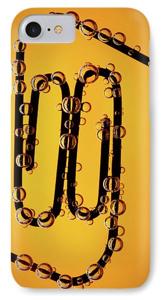 Bubble Race Phone Case by Marc Garrido