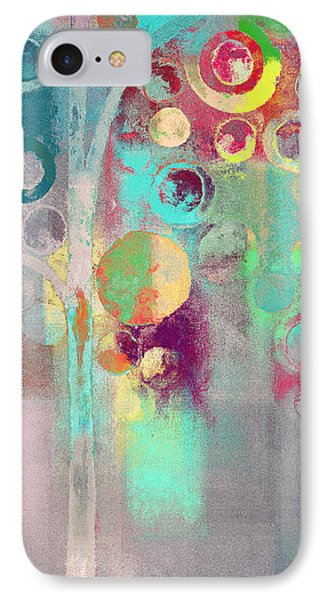 IPhone Case featuring the digital art Bubble Tree - 285r by Variance Collections