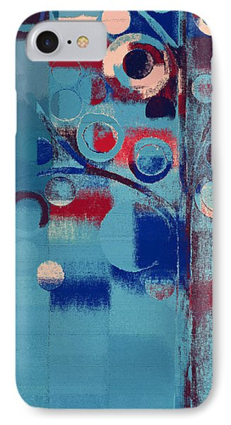 IPhone Case featuring the painting Bubble Tree - 85e-j4 by Variance Collections