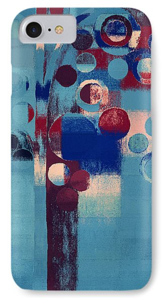 IPhone Case featuring the painting Bubble Tree - 85l-j4 by Variance Collections