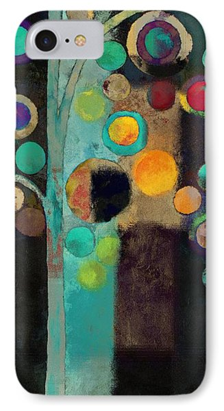Bubble Tree - J122129155rv11 IPhone Case by Variance Collections