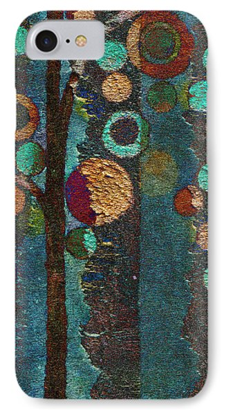 Bubble Tree - Spc02bt05 - Right Phone Case by Variance Collections