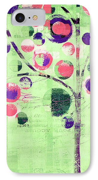 IPhone Case featuring the digital art Bubble Tree - 224c33j5l by Variance Collections