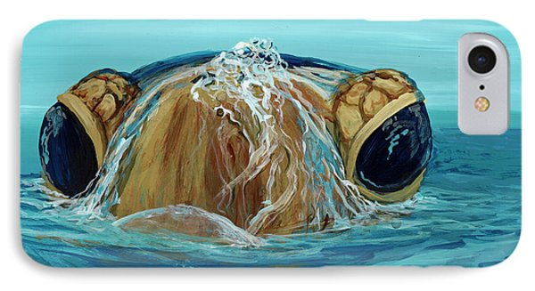 IPhone Case featuring the painting Bubbles by Darice Machel McGuire
