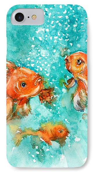 Bubbles IPhone Case by Judith Levins