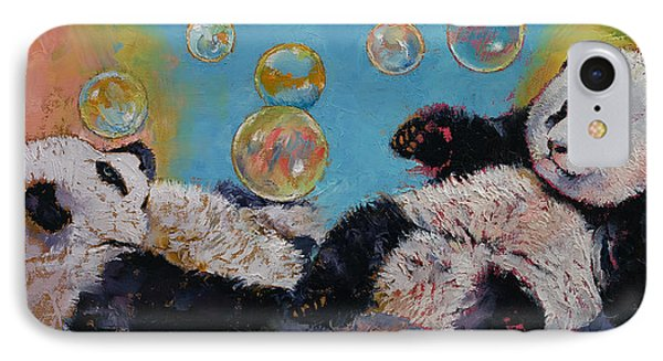 Bubbles IPhone Case by Michael Creese