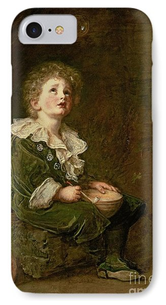 Bubbles IPhone Case by Sir John Everett Millais