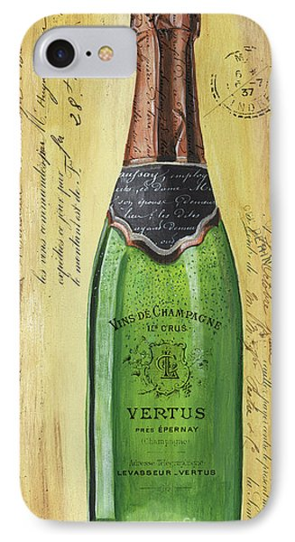 Bubbly Champagne 2 IPhone Case by Debbie DeWitt